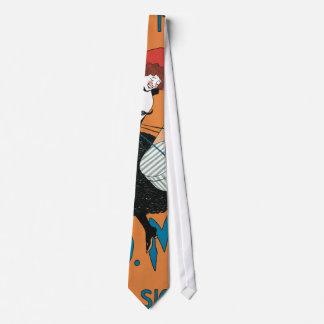 Arte Nouveau, moda italiana del vintage de las Corbata Personalizada