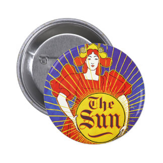 Arte Nouveau Nueva York Sun por Rhead Pins