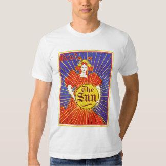Arte Nouveau:  Nueva York Sun por Rhead Poleras