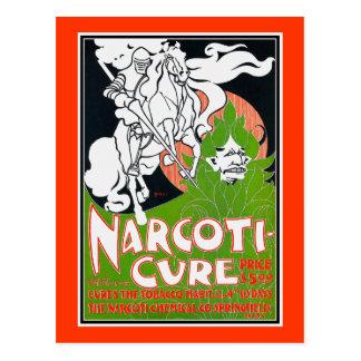 Arte Nouveau Poscard:  La Narcoti-Curación cerca B Tarjeta Postal