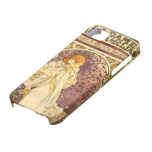 Arte Nouveau - Sarah Bernhardt - 1 iPhone 5 Protectores