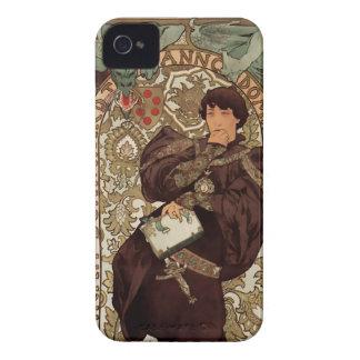 Arte Nouveau - Sarah Bernhardt y dragón - 1B iPhone 4 Protector