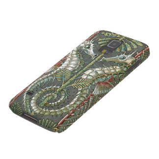 Arte Nouveau, Seahorses del vintage de la vida Carcasas De Galaxy S5
