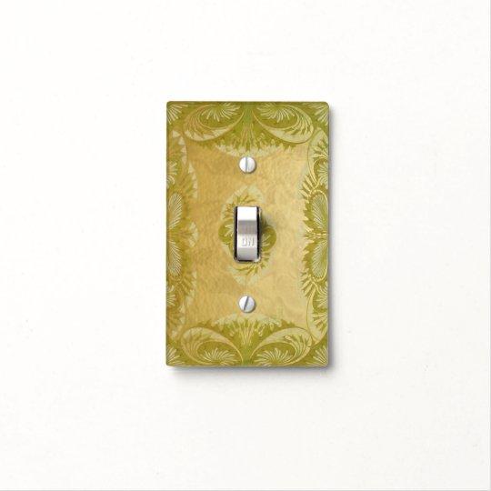 Arte Nouveau y oro - cambie la placa Cubierta Para Interruptor
