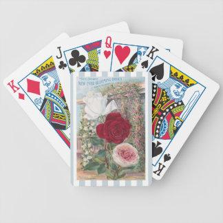 Arte Nunca-Floreciente del vintage de los rosas Barajas