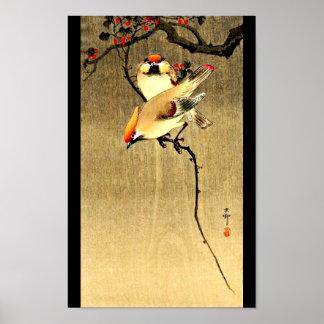 Arte-Ohara japonés Koson 27 del Poster-Vintage