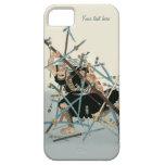 Arte oriental 3 del guerrero del samurai iPhone 5 Case-Mate protectores