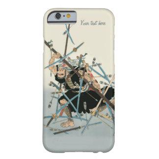Arte oriental 3 del guerrero del samurai funda barely there iPhone 6