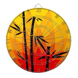 Arte oriental tablero dardos