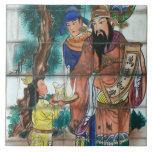 Arte oriental en el valle geotérmico, Taiwán Azulejos