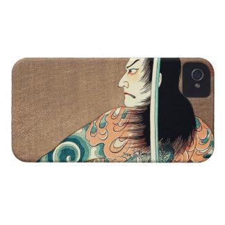 Arte oriental fresco de Natsumatsuri Danschich del Carcasa Para iPhone 4 De Case-Mate