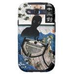 Arte oriental fresco del demonio del mar de Kuniyo Samsung Galaxy S3 Carcasa