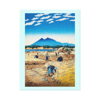 Arte oriental fresco del tiempo de cosecha de Shir Impresiones En Lienzo Estiradas