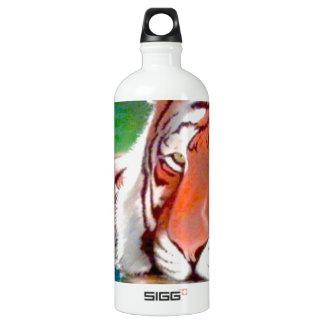 Arte original de encargo airbrushed tigre de la
