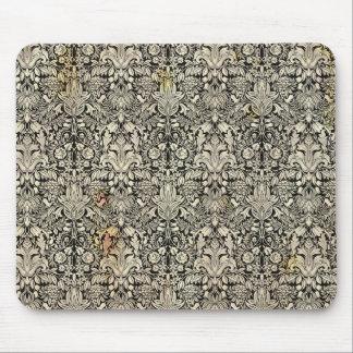 Arte ornamental Nouveau Mousepad del vintage Alfombrilla De Ratón