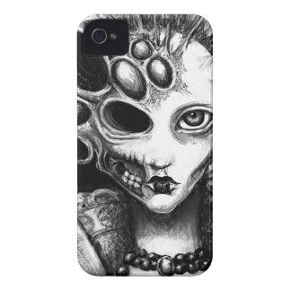 "Arte oscuro de ""Lizzy"" de Laura Moran iPhone 4 Case-Mate Fundas"