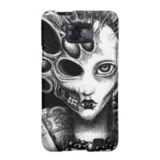 """Arte oscuro de """"Lizzy"""" de Laura Moran Samsung Galaxy S2 Funda"""