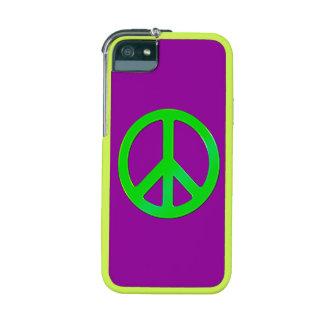 arte pacifista retro del símbolo de paz del hippy