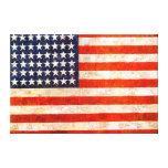 Arte patriótico de la lona de la pared de la bande impresiones en lona