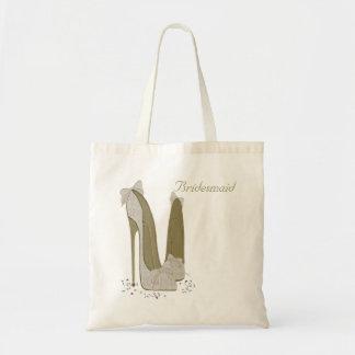 Arte personalizado del zapato del estilete del bolsa tela barata