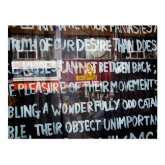 Arte/pintada de la calle de mercado de Kensington Tarjetas Postales