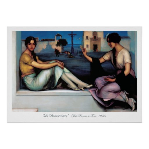 Arte Pintura, Buenaventura, Julio Romero de Torres Póster
