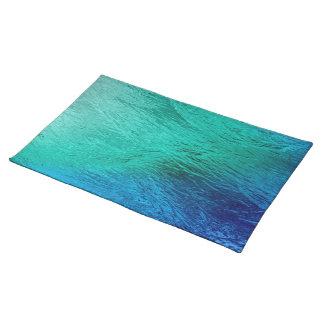 Arte Placemat de Digitaces de la agua de mar del o Mantel