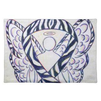 Arte Placemat del ángel de la cinta de la Manteles Individuales