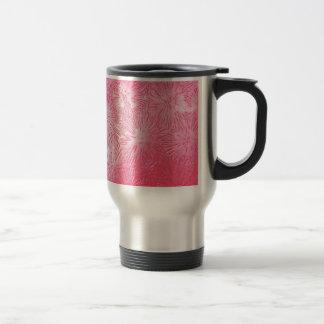 Arte plástico del modelo del linóleo de color taza de viaje de acero inoxidable