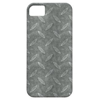 Arte plateado diamante sucio de hombres masculino iPhone 5 carcasas