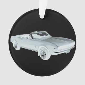 Arte pop 1967 del coche del músculo de Chevy