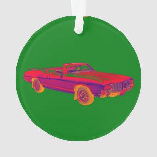 Arte pop 1971 supremo del coche del músculo del