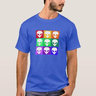 Arte pop Alienígena T-Shirt