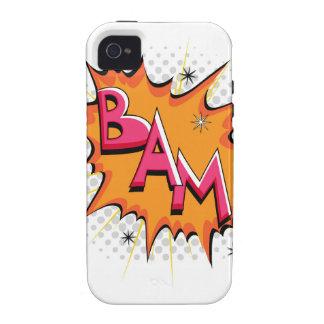 ¡Arte pop Bam cómico! iPhone 4 Carcasas