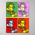 Arte pop Beethoven Impresiones