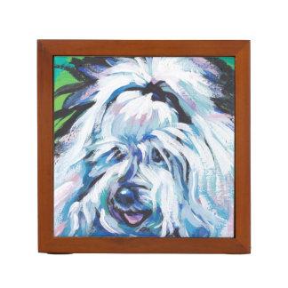 Arte pop brillante de la diversión de Tulear Dog