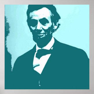 Arte pop de Abraham Lincoln Impresiones