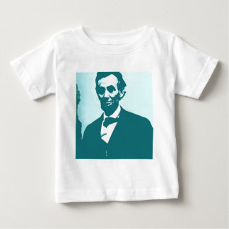 Arte pop de Abraham Lincoln Remeras