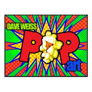 Arte pop de Dave Weiss Postal