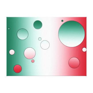 Arte pop de Digitaces Colores de la bandera de Mé Lona Estirada Galerias