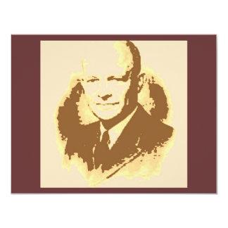 Arte pop de Dwight D Eisenhower Anuncio