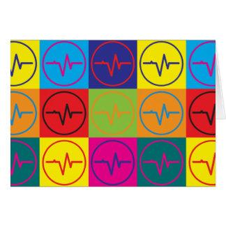 Arte pop de EEG Felicitación