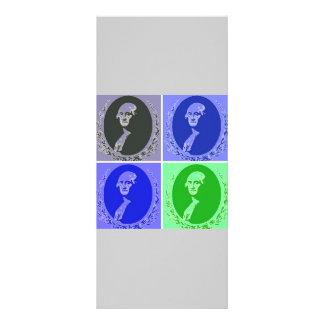 Arte pop de George Washington Tarjeta Publicitaria Personalizada