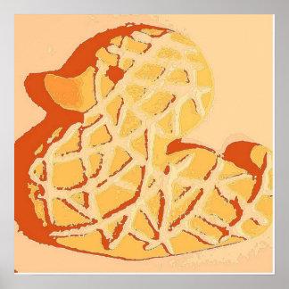 Arte pop de goma de Duckie Póster