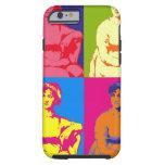 Arte pop de Jane Austen Funda Para iPhone 6 Tough