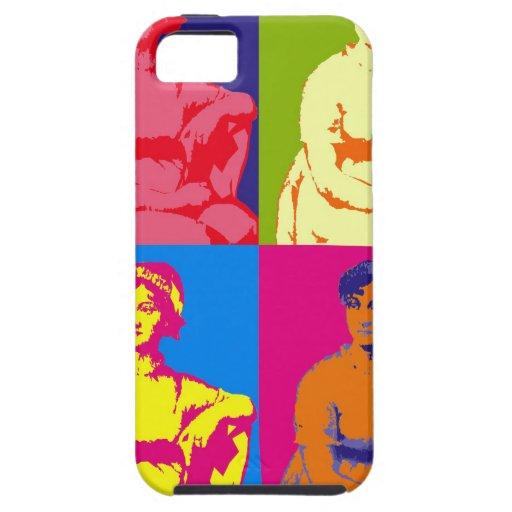 Arte pop de Jane Austen iPhone 5 Carcasa