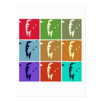 Arte pop de John F. Kennedy /JFK Postal