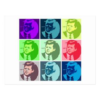 Arte pop de John F. Kennedy Postales