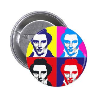 Arte pop de Joseph Smith Pin Redondo 5 Cm