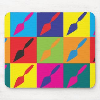 Arte pop de la arqueología mouse pads